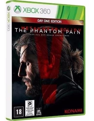 Metal Gear V The Phantom Pain - Midia Fisica - Xbox 360