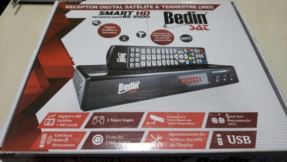Receptor Digital + Conversor Bs9500 Bedinsat