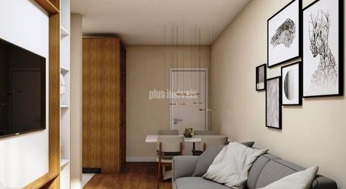 Apartamento Para Comprar Com 1 Quarto E 1 Vaga Em Sumaré-sp - Pj53620