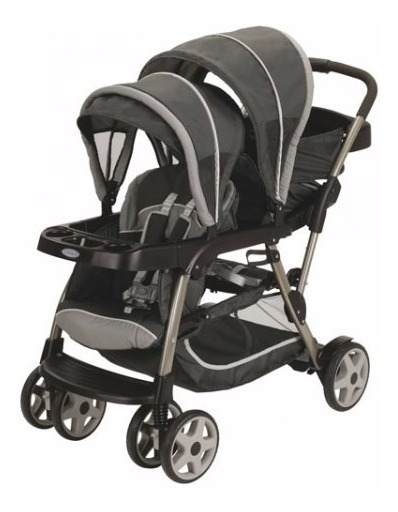 Cochecito Para Bebes Hermanito Graco Ready2grow Coche Doble