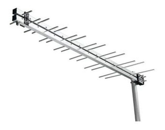 Antena Digital Tv Externa Uhf Log 28 Elementos Hdtv