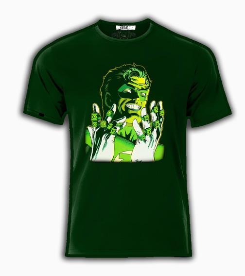 Playera O Camiseta Linterna Verde Esmeralda Hal Jordan Dc Co