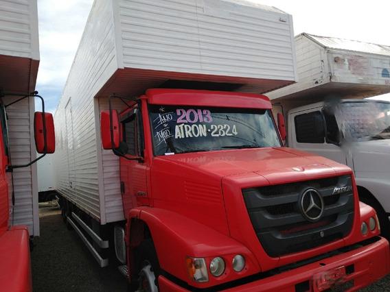 Mb 2324/13 6x2 Vermelho Baú Com 11m