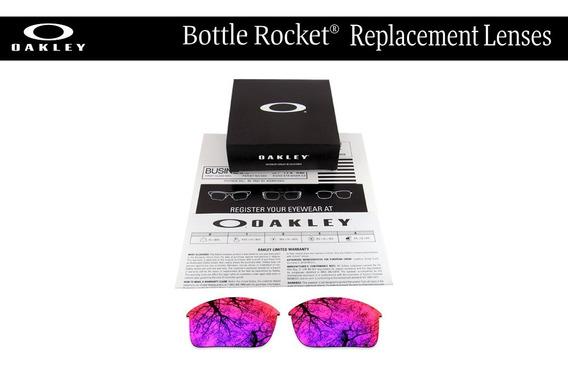 Micas De Reemplazo Para Oakley Bottle Rocket Positive Red