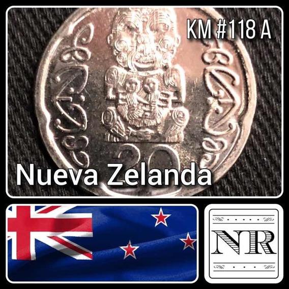 Nueva Zelanda - 20 Cents - Año 2006 - Km #118a - Oceanía