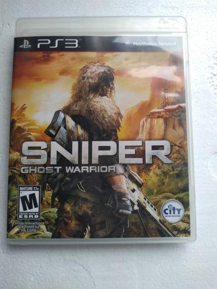 Jogo Sniper Ghost Warriors 1 Ps3 Play 3 Mídia Fisica