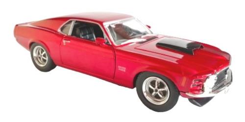 Carro Coleccion Escala 1/24 Ford Mustang 1970 Boss 429