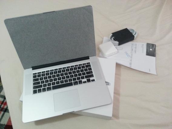 Macbook Pro Tela Retina 15.4 Mjlt2bz/a Intel Core I7 2.5ghz