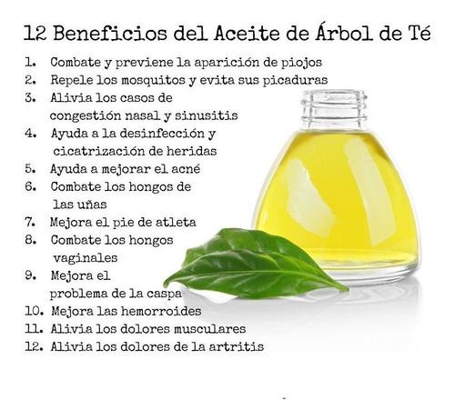 Aceite Arbol De Te 100 Puro Australiano 59 Ml Tea Tree Oil Mercado Libre