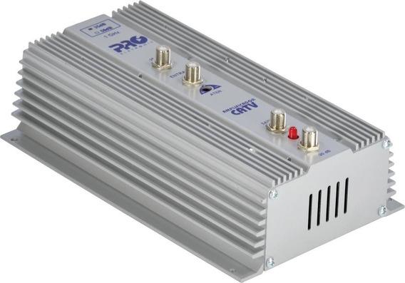 Amplificador De Potência 1ghz Uhf Vhf Catv 35db Pqap-6350
