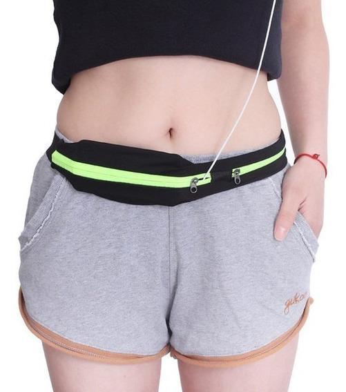 Bolso De Cintura Fitness: Gym, Running, Teléfono, Llaves