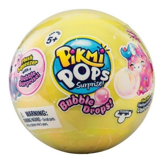 Pikmi Pops Bubble Drops Pelucia Bolha E Gliter Unidade Dtc