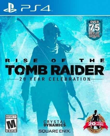 Rise Of The Tomb Raider Comemoração De 20 Anos Ps4 | Digital