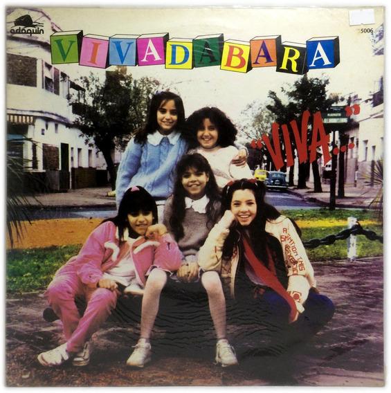 Vinilo Vivadabara Viva Lp Argentina 1987