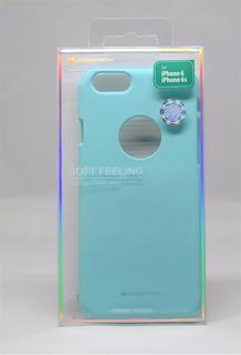 Funda iPhone 6 Mercury Goospery Soft Feeling Menta