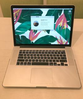 Macbook Pro Retina 15 | Core I7 | 16 Gb | 250 Gb