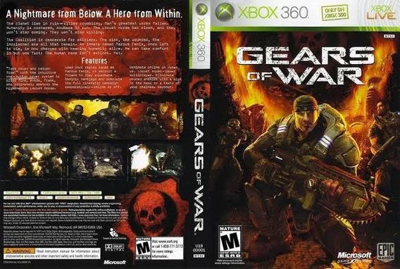 Gears Of War 1 Xbox 360 E Xbox One Midia Digital Codigo