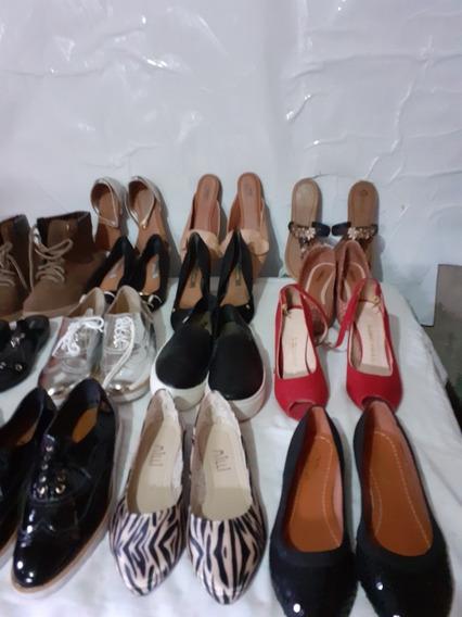 Lotes Para Bazarcom 50 Sapatos Sapatilhas, Botas,moleca