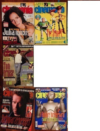 Revista Cinemania Bicentenario, Toy Story 2, Tom Cruise