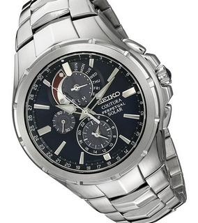 Reloj Seiko Coutura Ssc375 Solar Calendario Perpetuo!!!!