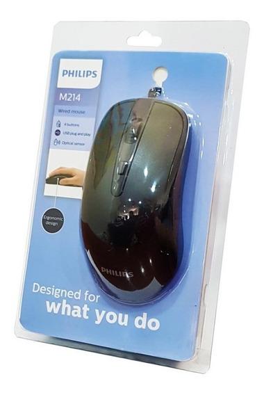 Mouse Optico Philips M214 Original