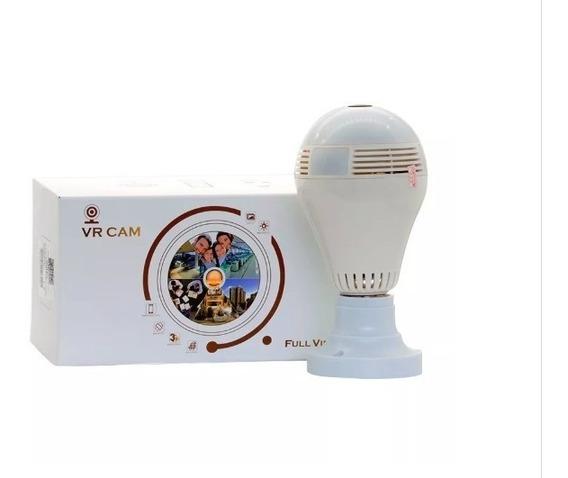Câmera Segurança Lampada 360° Espia Wifi V380