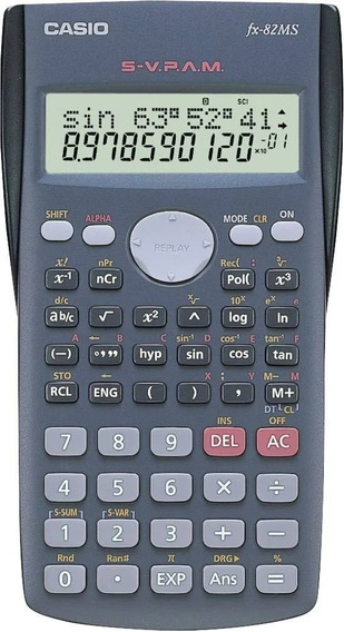 Calculadora Científica Casio Fx82ms 240 Func Envio Gratis