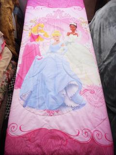Edredon Individual De Las Princesas Disney Original