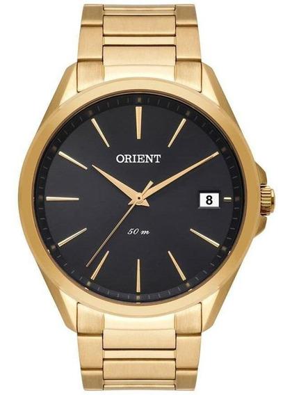 Relógio Orient Masculino Dourado Classico Mgss1171 G1kx
