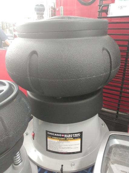 Central Tambor Vibrador 18lb 9kg Remueve Oxido Pule Metales
