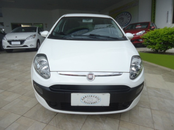 Fiat Punto 1.4 Attractive Flex 5p Branco 2013