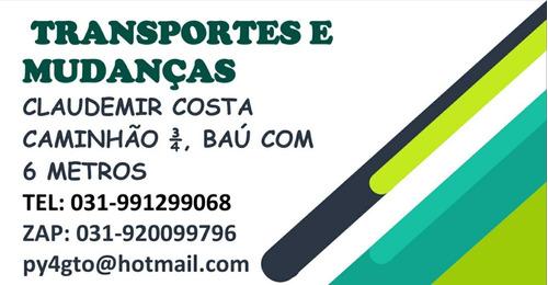 Mudanças De Minas Gerais Para Qualquer Lugar Do Brasil.