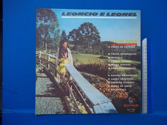 Lp Vinil Leoncio E Leonel Raridade 1969 Sonhando Contigo