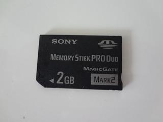 Cartão De Memória Sony 2 Gb