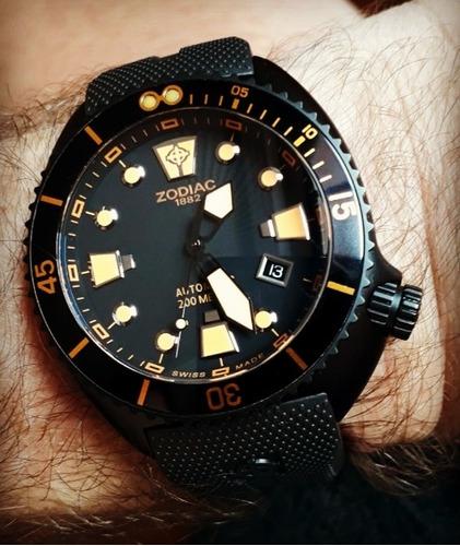 Relógio Zodiac Oceanaire 200m - Diver - Swiss Made - Lindo