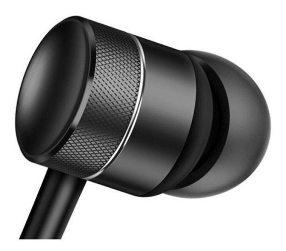 Fones De Ouvido Metálicos, Compatível Com Samsung E Apple
