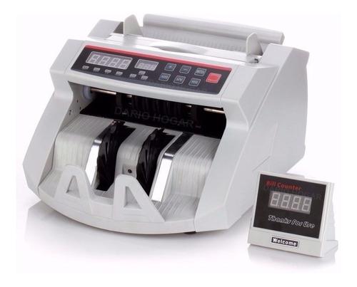 Maquina Contadora De Billetes Con Alarma Detección De Falsos