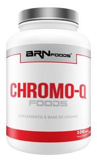 Chromo-q Foods 100 Cápsulas - Brn Foods - 3 = Frete Grátis!