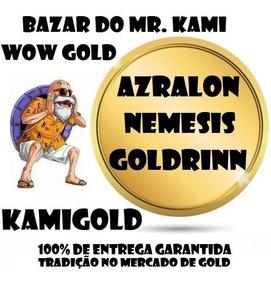 50k Gold Azralon Nemesis Goldrinn Ouro Wow