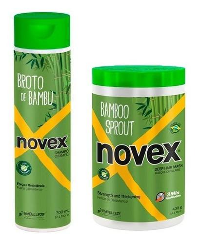 Imagen 1 de 1 de Novex Kit Shampoo Y Tratamiento Bambu - g a $48
