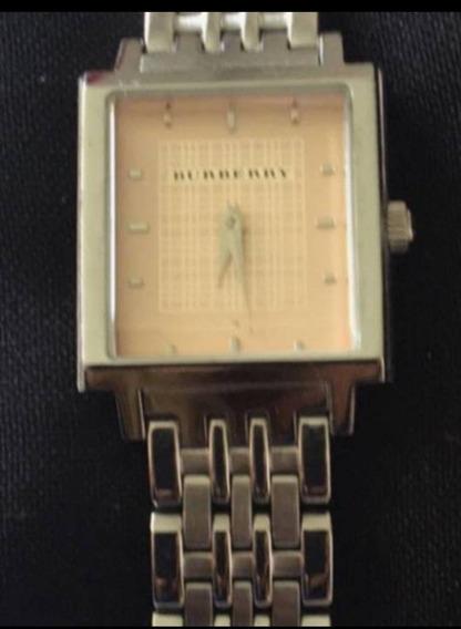 Relógio Vintage Fundo Salmão Burberry