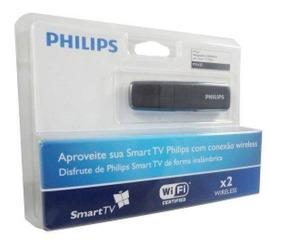 Adaptador Wi-fi Pta 127 Usb Tv Philips Sem Fio Wireless