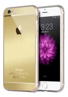 Capa iPhone Se 5s 5 Capinha Apple Case Dourada
