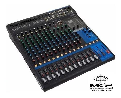 Yamaha Mg16-xu Consola Mixer 16ch Usb Efectos Mg16xu Cuotas