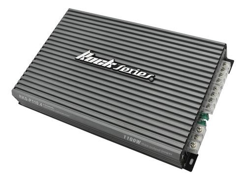 Imagen 1 de 3 de Amplificador De 4 Canales Rock Series Rks-p110.4 Clase Ab