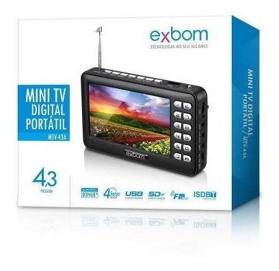 Mini Tv Portátil De 4.3 Polegadas.