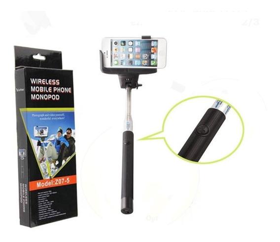 Monopod C/ Disp Bluetooth+ Kit Lentes P/ iPhone 4/4s/5/5s/5c