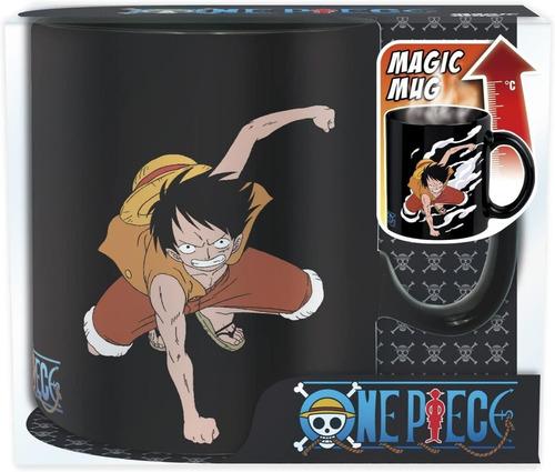 Taza Mágica One Piece Luffy & Ace