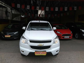 Gm - Chevrolet S10 Lt 2.4 Flex Ano 2013 Completa Branca
