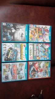 6 Jogos De Wii U Originais